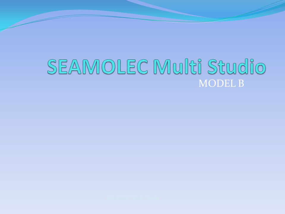 MODEL B SEAMOLEC Multi Studio