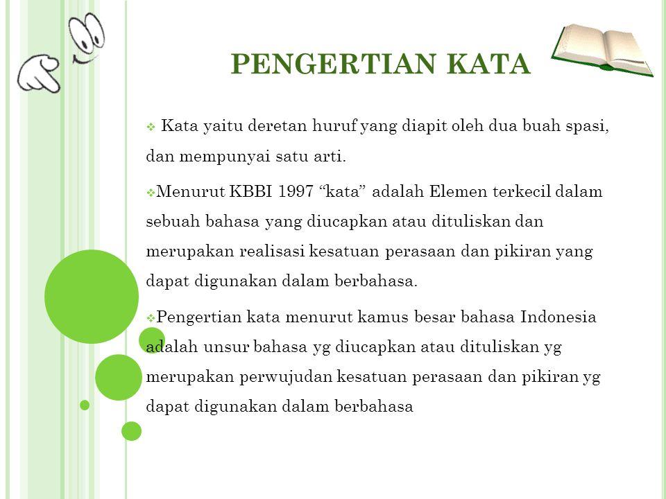 PENGERTIAN ISTILAH Pengertian istilah menurut kamus besar bahasa Indonesia adalah kata atau gabungan kata yang dengan cermat mengungkapkan makna konsep, proses, keadaan, atau sifat yang khas dalam bidang tertentu.