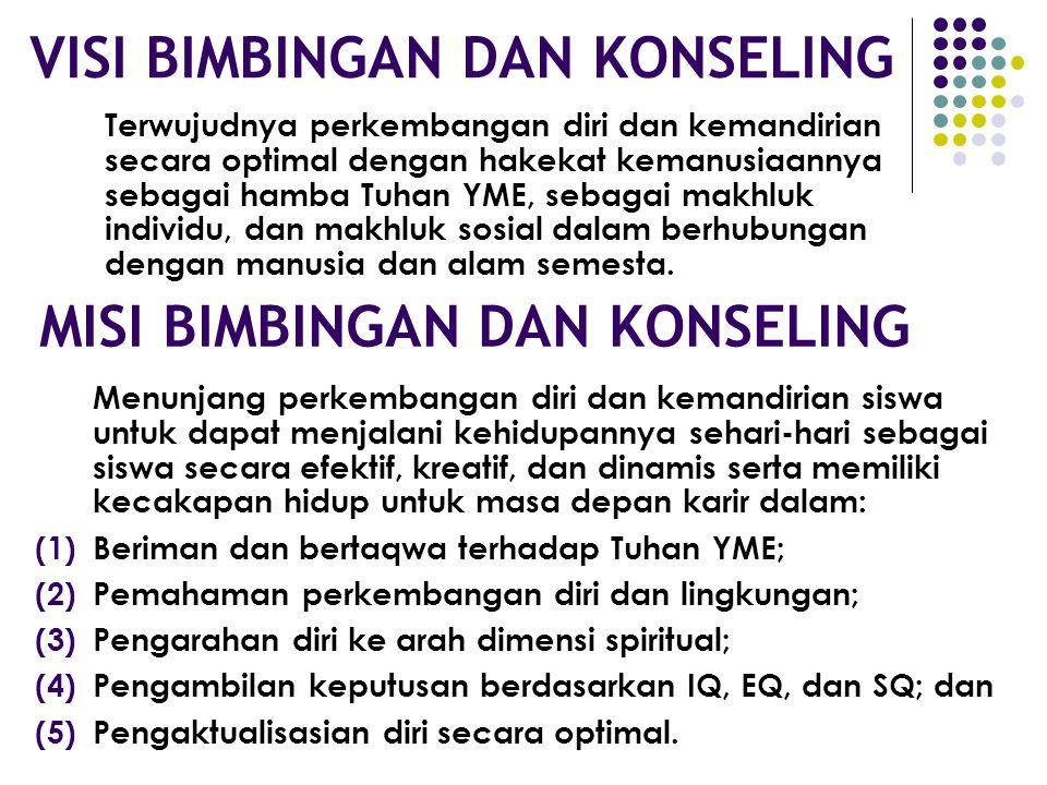 PARADIGMA BIMBINGAN DAN KONSELING BK merupakan pelayanan psiko-paedagogis dalam bingkai budaya Indonesia dan religius. Arah BK mengembangkan kompetens