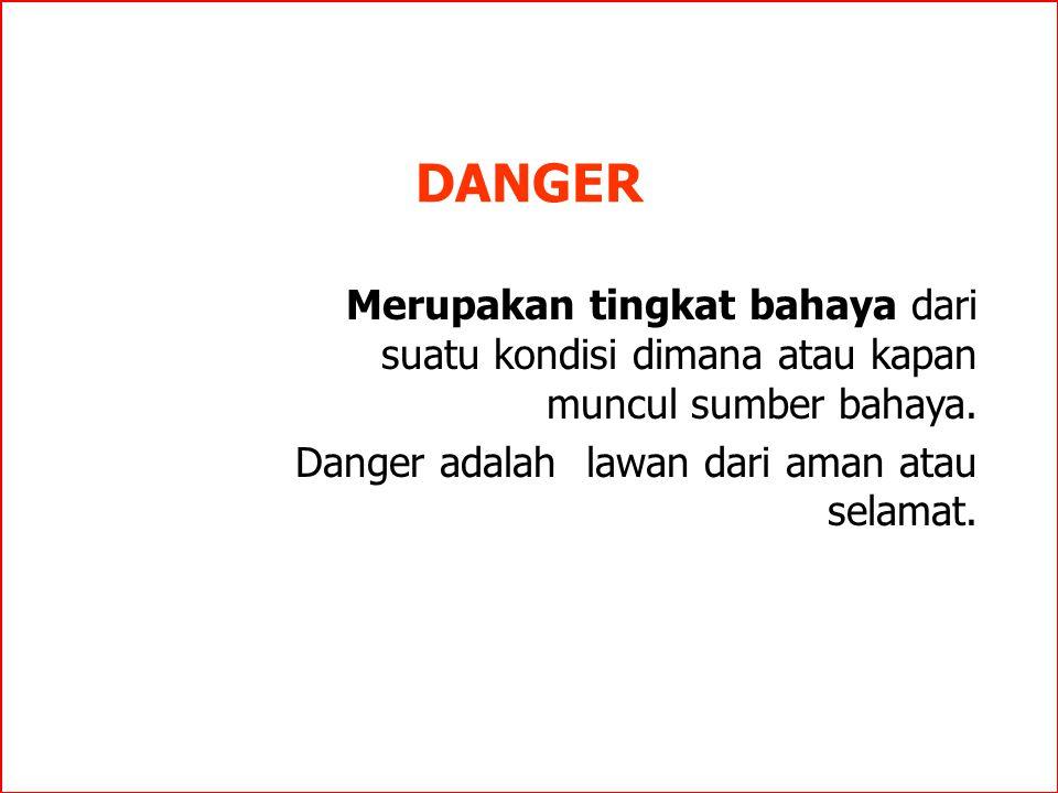 DEFINISI ACCIDENT Suatu kejadian yang tidak diinginkan berakibat cedera pada manusia, kerusakan barang, gangguan terhadap pekerjaan dan pencemaran lin