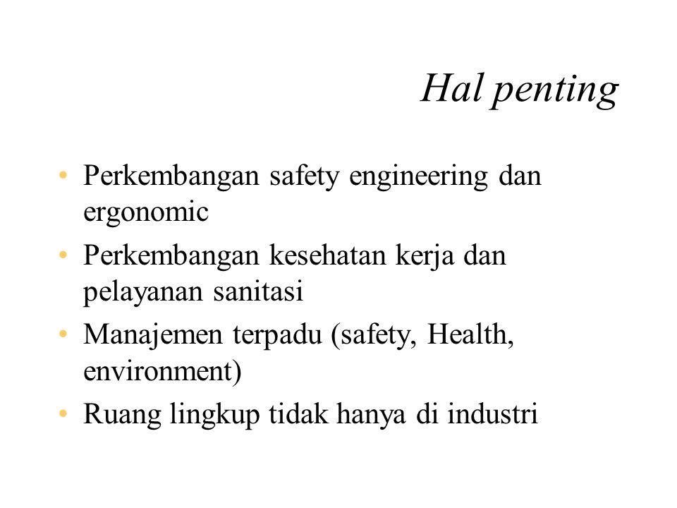 Era revolusi industri (abad 18) Perubahan sistem kerja : –Penggunaan tenaga mesin –Pengenalan metode baru pengolahan bahan baku –Pengorganisasian peke
