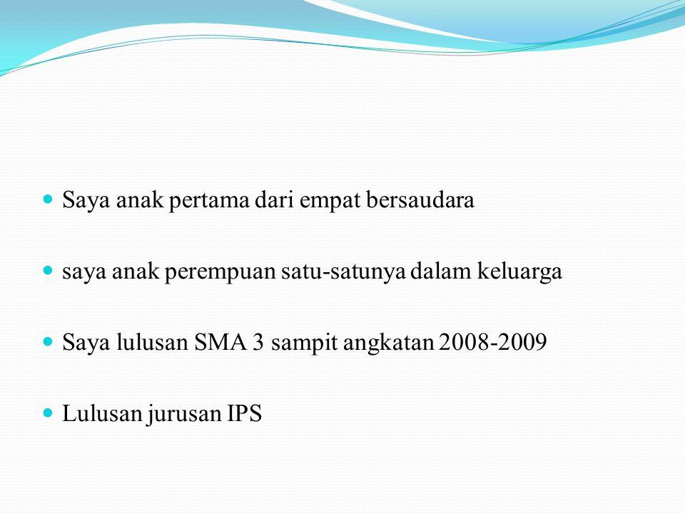 Nama lengkap :Nuhasanah Nama panggilan :Sanah Tempat tgl lahir :Sampit,07 maret 1991 Hoby :Mendengarkan musik dan bernyanyi Agama :Islam Alamat :Jln M