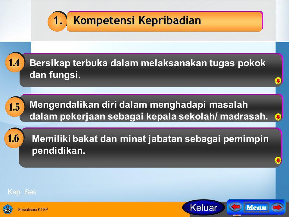 Sosialisasi KTSP 1.