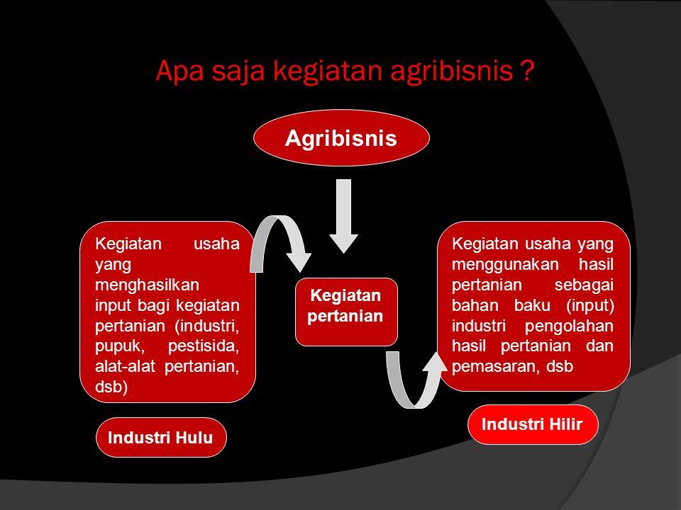 MENGAPA AGRIBISNIS ITU PENTING .1.