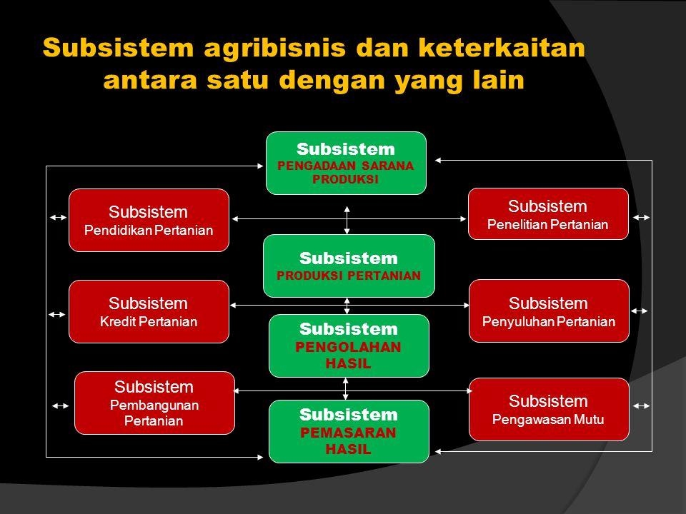 Masalah-masalah dalam kegiatan agribisnis 1.Kelangkaan pupuk dan haganya mahal; 2.