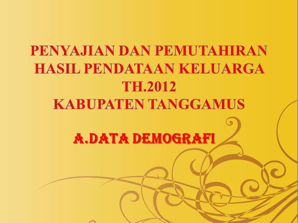A.DATA DEMOGRAFI