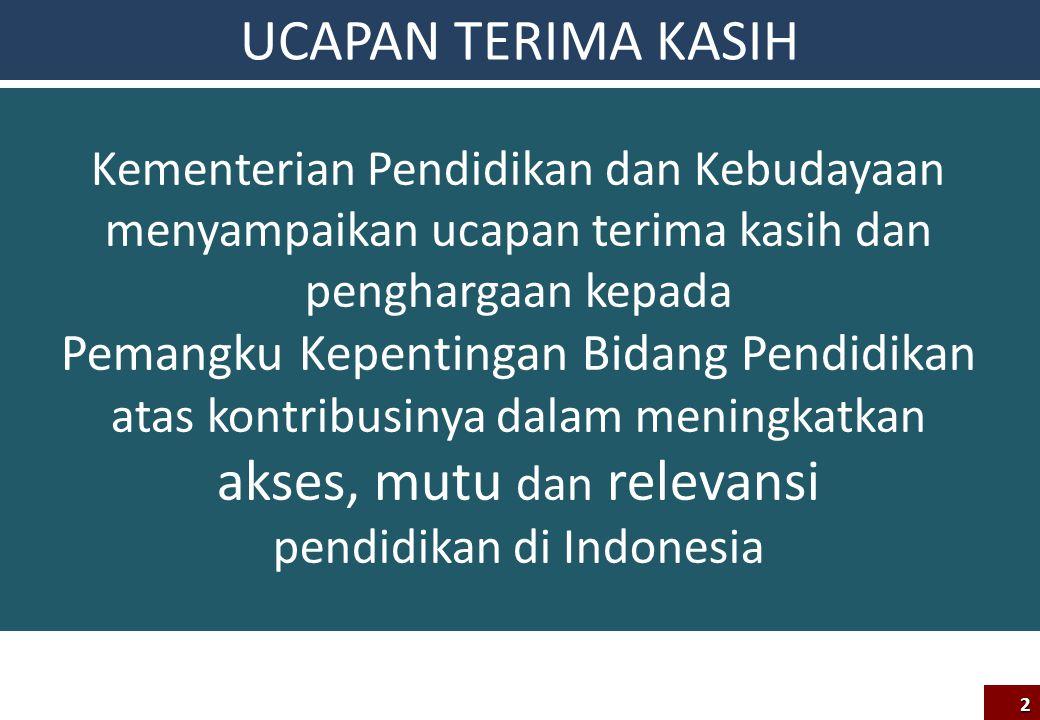 Target Rakor Diperolehnya kesepahaman dan kesepakatan teknis mengenai pelaksanaan UN 2014 dan Kurikulum 2013