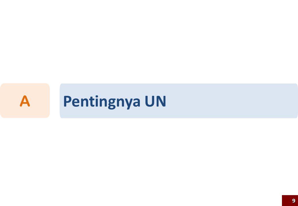Pentingnya UN A9