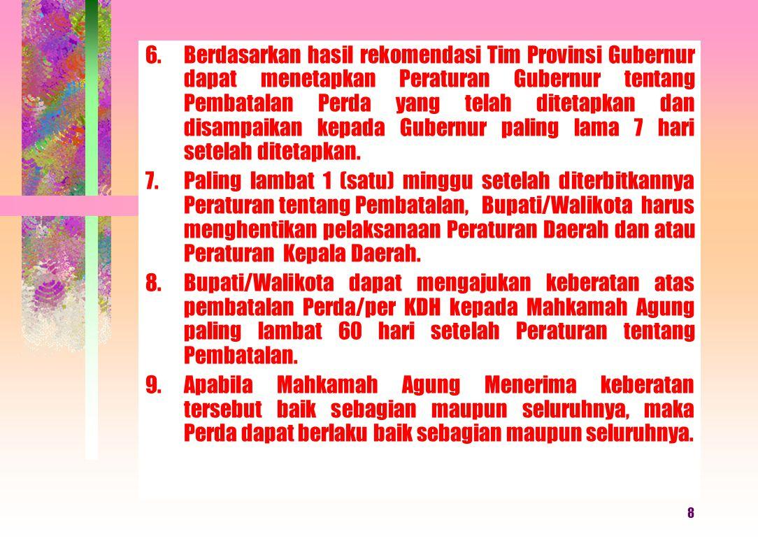 18 Permendagri Nomor 53 Tahun 2007 Perda + Per.
