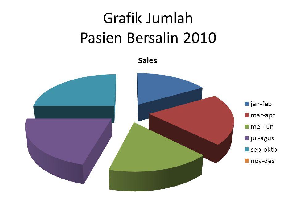 Grafik Jumlah Pasien Bersalin 2010