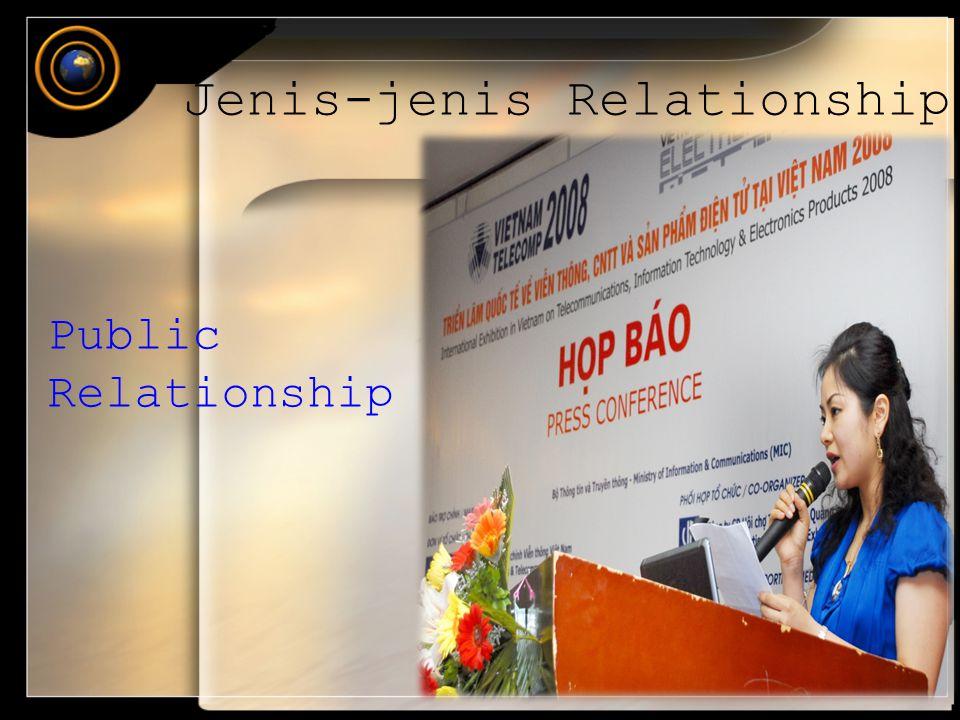 Jenis-jenis Relationship Public Relationship