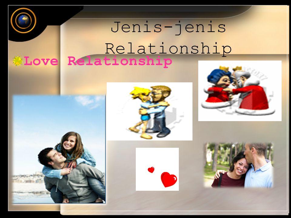Jenis-jenis Relationship Love Relationship