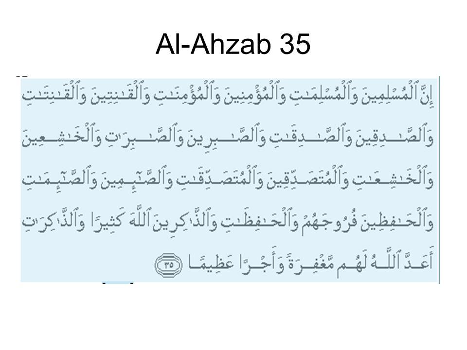 Al-Ahzab 35