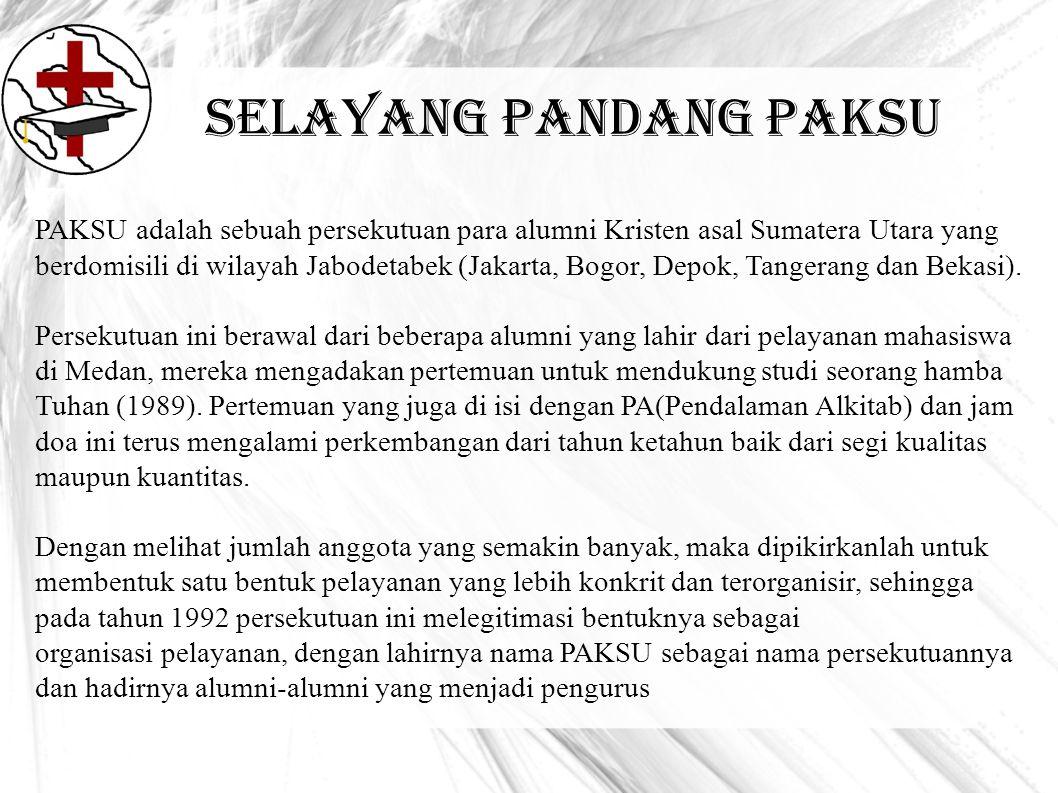 SELAYANG PANDANG PAKSU PAKSU adalah sebuah persekutuan para alumni Kristen asal Sumatera Utara yang berdomisili di wilayah Jabodetabek (Jakarta, Bogor
