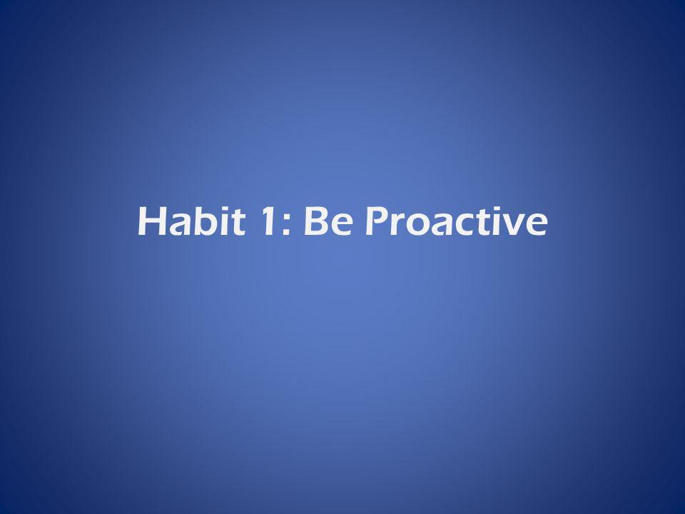 Habit 6: Synergize