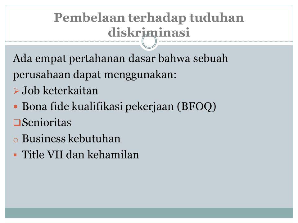 diskriminatif praktek manajemen personalia  Praktik-praktik Diskriminatif Personalia dalam Perekrutan 1.