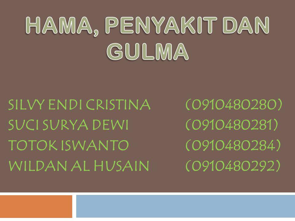 SILVY ENDI CRISTINA(0910480280) SUCI SURYA DEWI(0910480281) TOTOK ISWANTO (0910480284) WILDAN AL HUSAIN (0910480292)