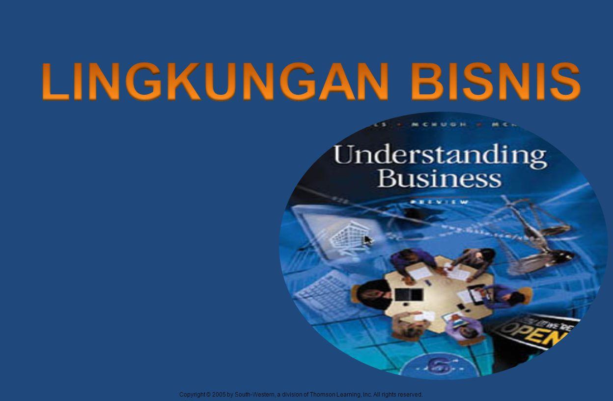  Nickels et.al.(2009:13) lingkungan bisnis terdiri atas faktor-faktor sekitar yang dapat membantu atau menghambat perkembangan bisnis.