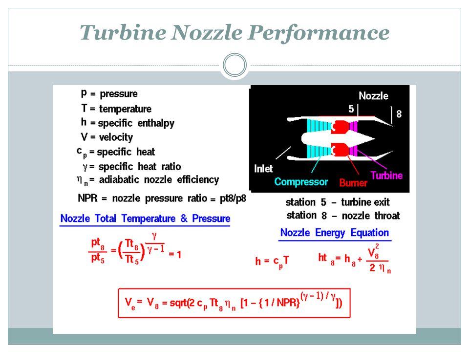 Turbine Nozzle Performance