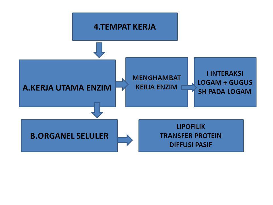 5.ABSORBSI LOGAM A.PERNAFASAN B.SALURAN PENCERNAAN C.MELALUI KULIT 90% DLM BENTUK GAS UAP MIST DIPENGARUHI OLEH BBRP FAKTOR : -PENGOSONGAN LAMBUNG -PERISTALTIK USUS HIDROLISIS/REDUKSI GETAH LAMBUNG -MKN DAN CAIRAN DLM PENCERN - KONSUMSI LEMAK -IRITANT REAKSI -SENSITIVITAS -EFEK SISTEMIK