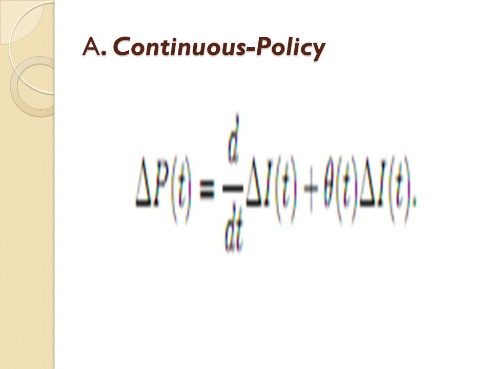 A. Continuous-Policy