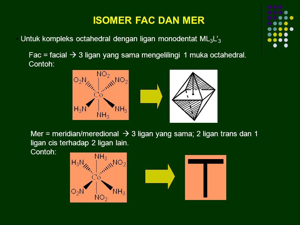 ISOMER GEOMETRI (CIS DAN TRANS)