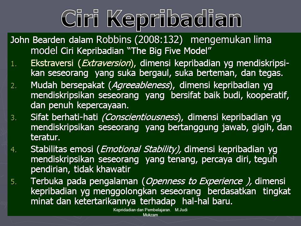 Pengkondisian Operan (Operant Conditioning) ► Robbins (2008:72) Pengkondisian operan menyatakan bhw perilaku merupakan fungsi dari konsekuensi-konsekuensinya.