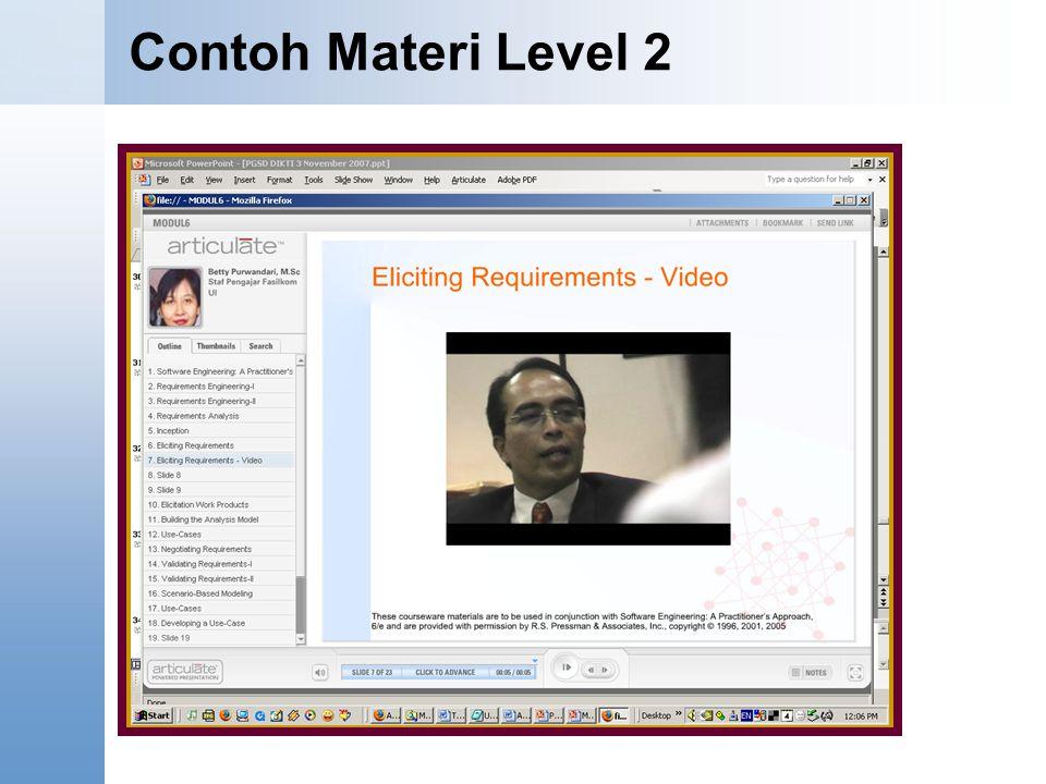 Contoh Materi Level 2