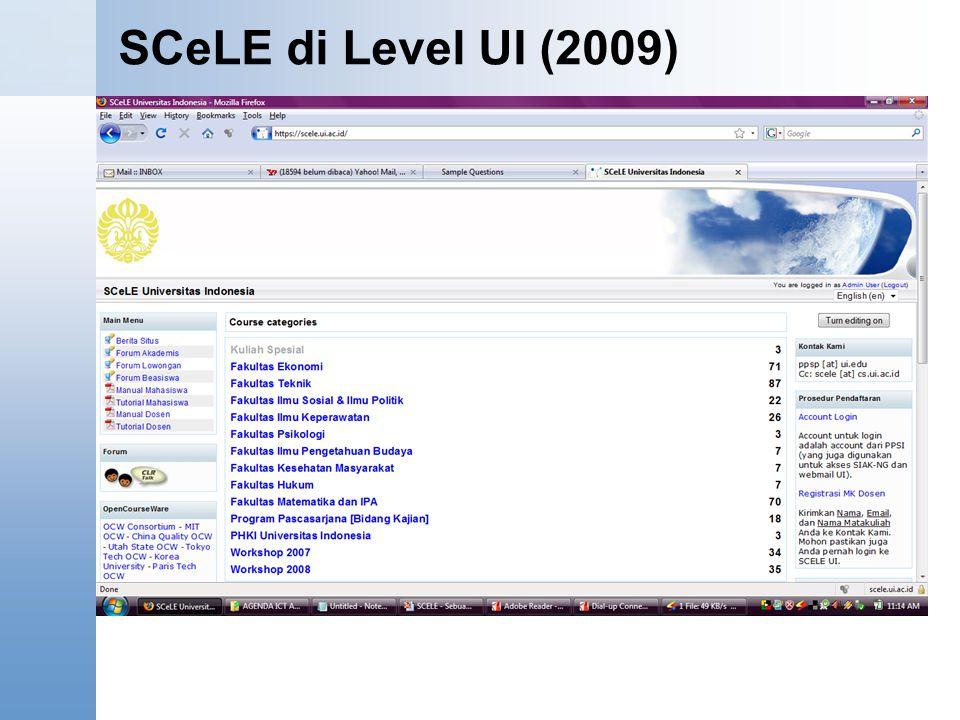 SCeLE di Level UI (2009)