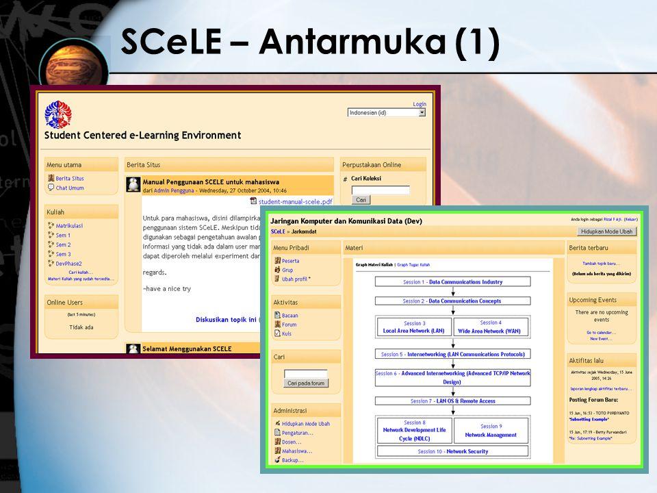 34 SC e LE – Antarmuka (1)