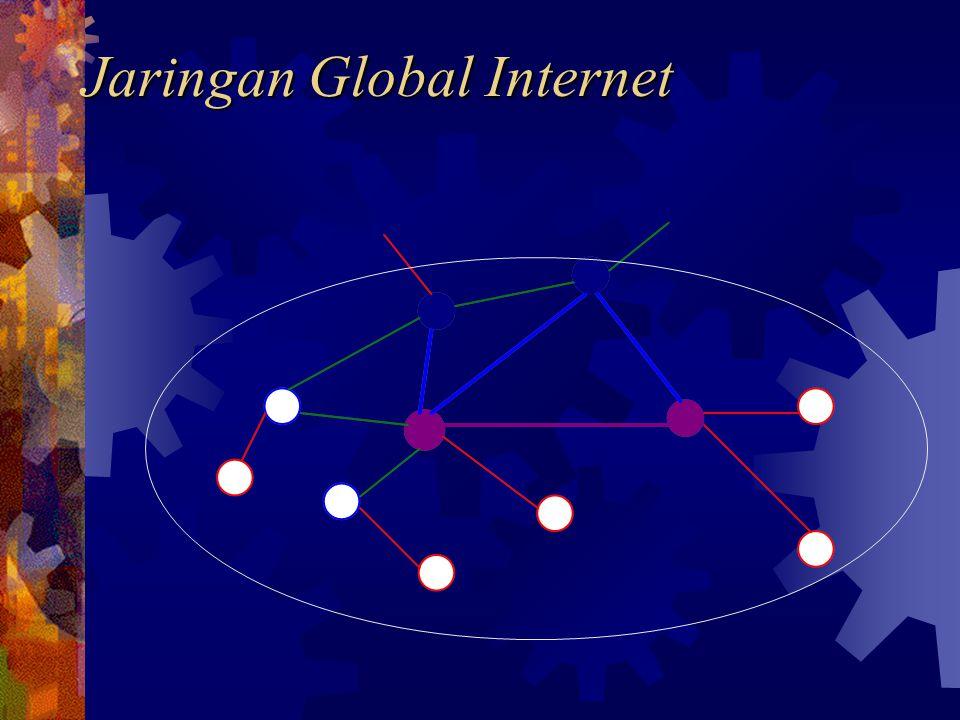 Strategi Pengembangan e-Business  Penyusunan Rencana Pengembangan  Pembangunan secara bertahap/dinamis  Perlu menetapkan prioritas implementasi  Pemilihan Teknologi yang tepat  Penyiapan Sumber Daya  Gunakan jasa Web-Hosting  Pengembangan diserahkan pihak ketiga  Kerjasama dengan Institusi Penyedia jasa Internet
