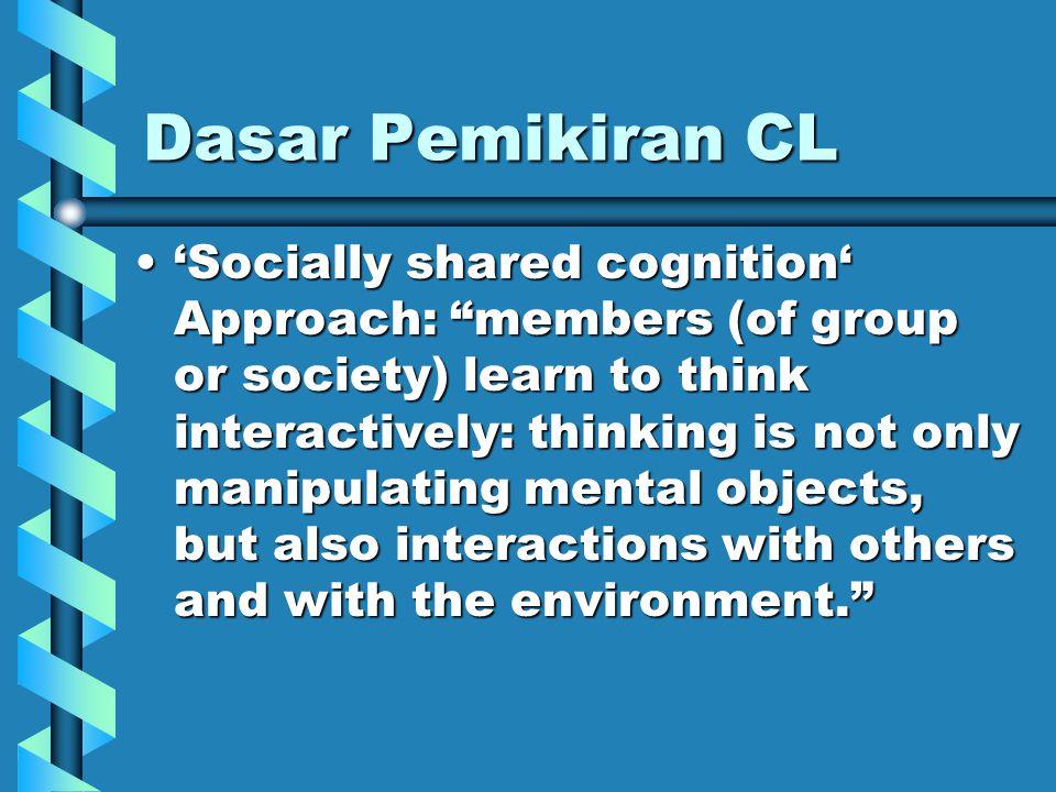 Prosedur CL Kelompok dibagi sesuai dengan kriteria kondisi efektif.Kelompok dibagi sesuai dengan kriteria kondisi efektif.