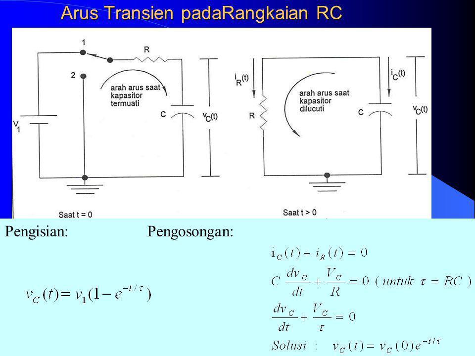 Rangkuman: Resistor:Kapasitor:Induktor: V = i R v = L di/dt I = V/R i = C dv/dt