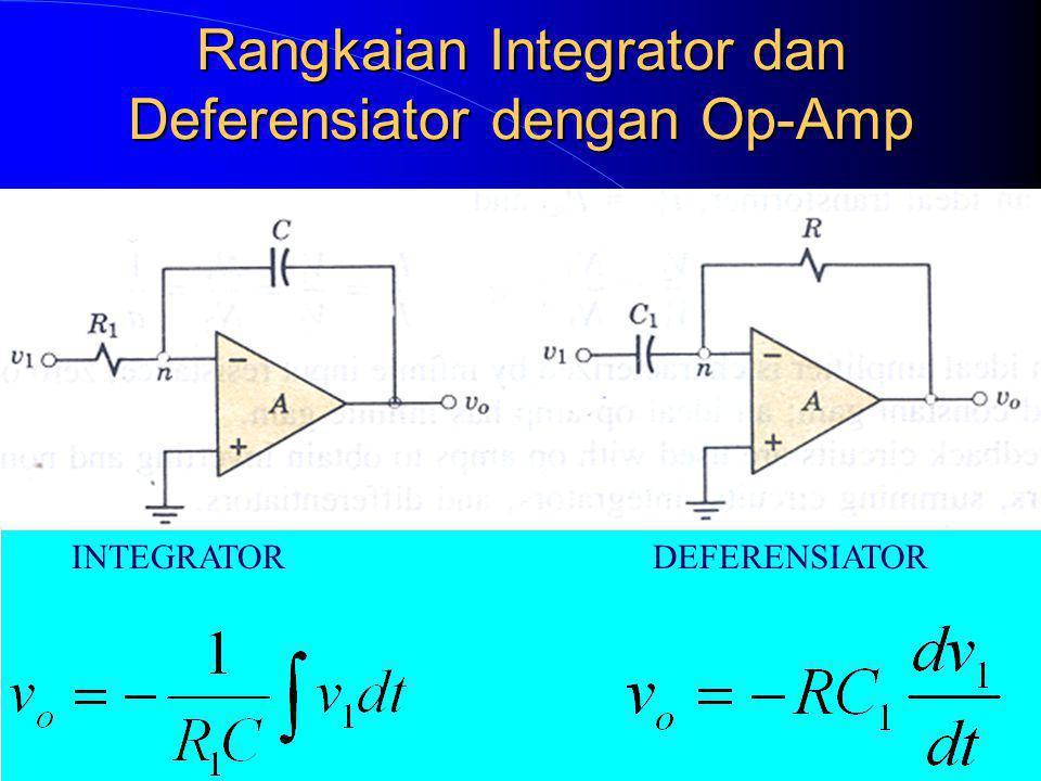 Rangkaian Integrator