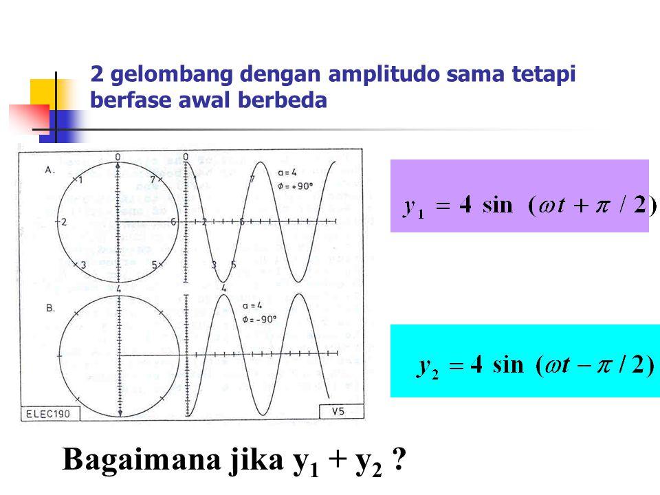 Bagaimana jika y 1 + y 2 ?