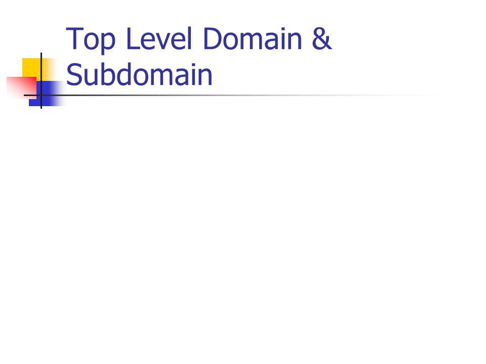 Contoh Reverse Domain ex : Network dengan IP address klas B 167.205.xx.xx mempunyai reverse domain 205.167.in-addr.arpa ex : Network dengan IP address klas C 196.3.6.xx mempunyai reverse domain 6.3.196.in-adr.arpa