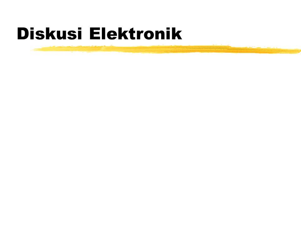 Diskusi Elektronik