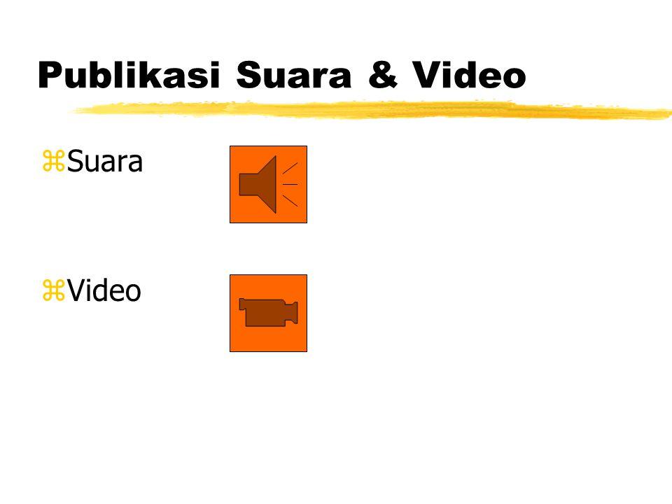 Publikasi Suara & Video zSuara zVideo