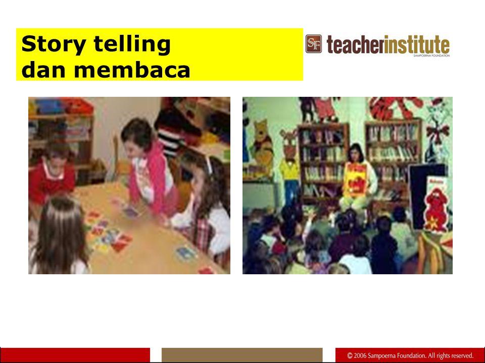 Story telling dan membaca