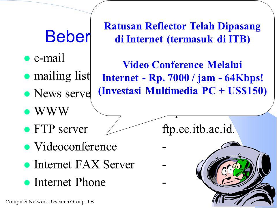 Computer Network Research Group ITB File di remote