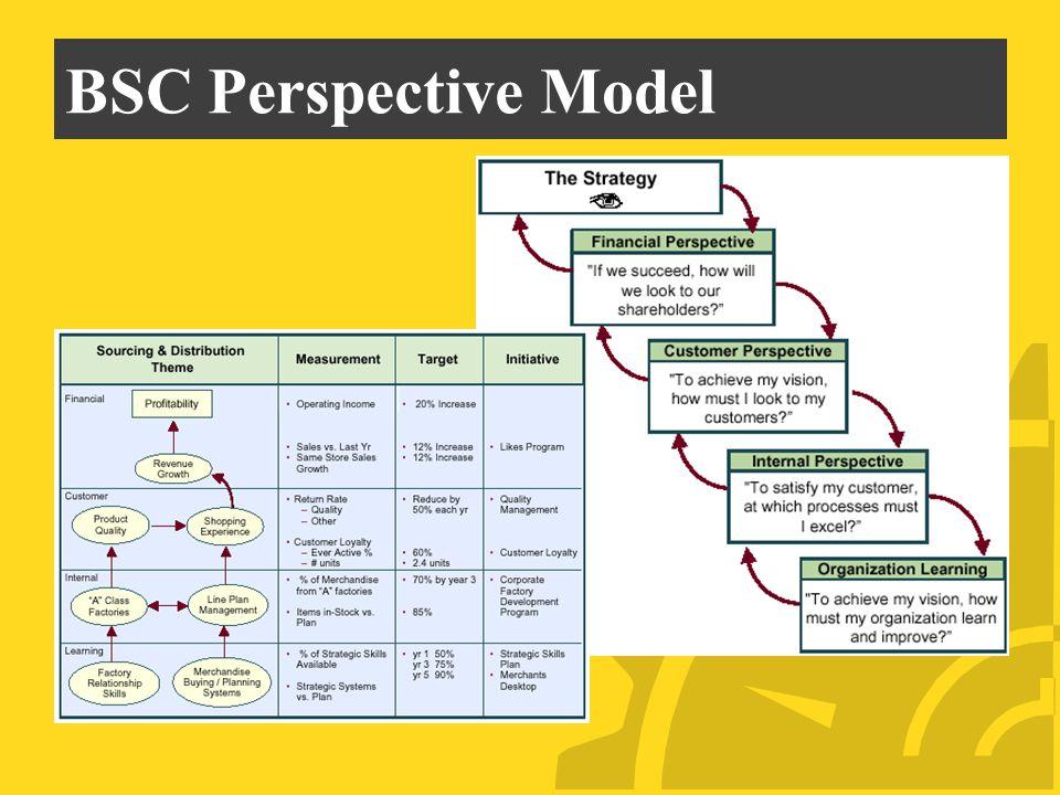 BSC Perspective Model