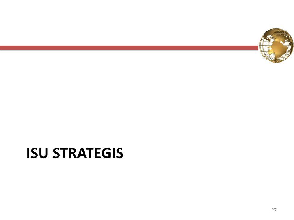 ISU STRATEGIS 27