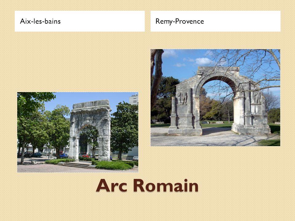 Arc Romain Aix-les-bainsRemy-Provence