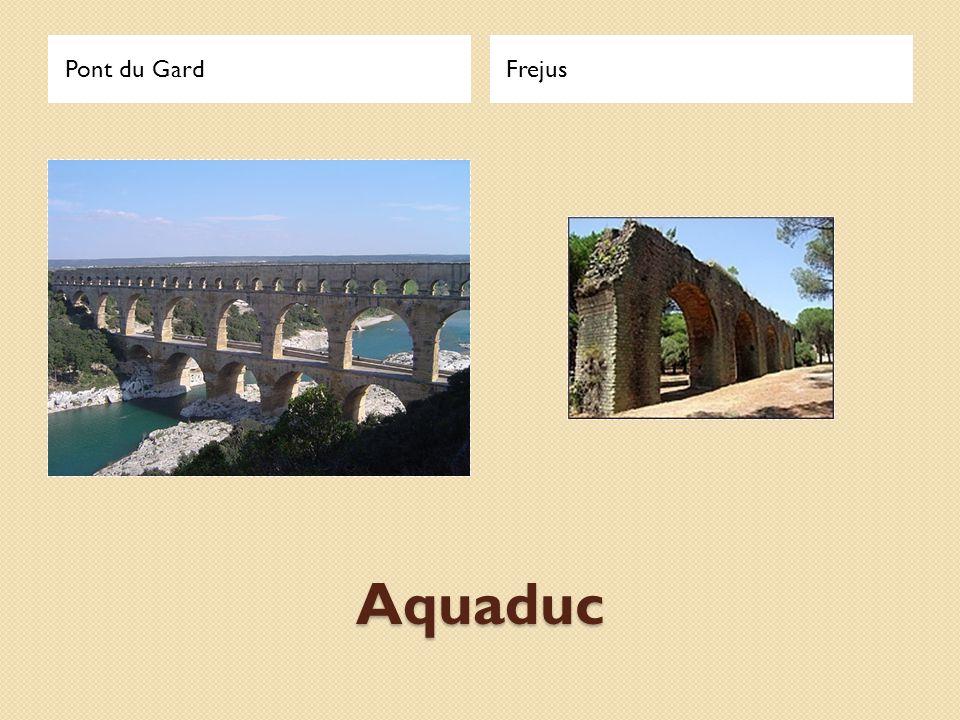 Aquaduc Pont du GardFrejus