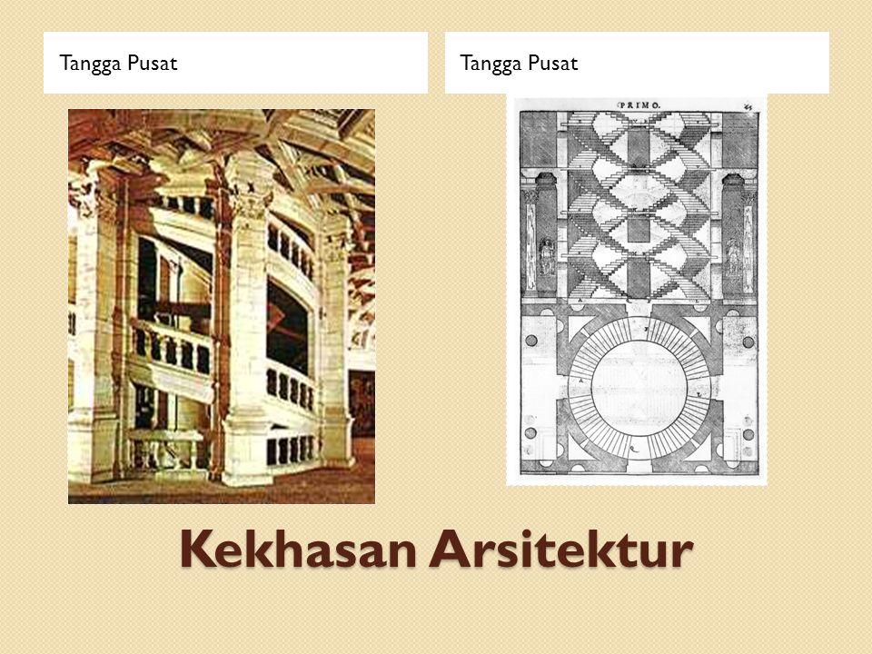 Kekhasan Arsitektur Tangga Pusat