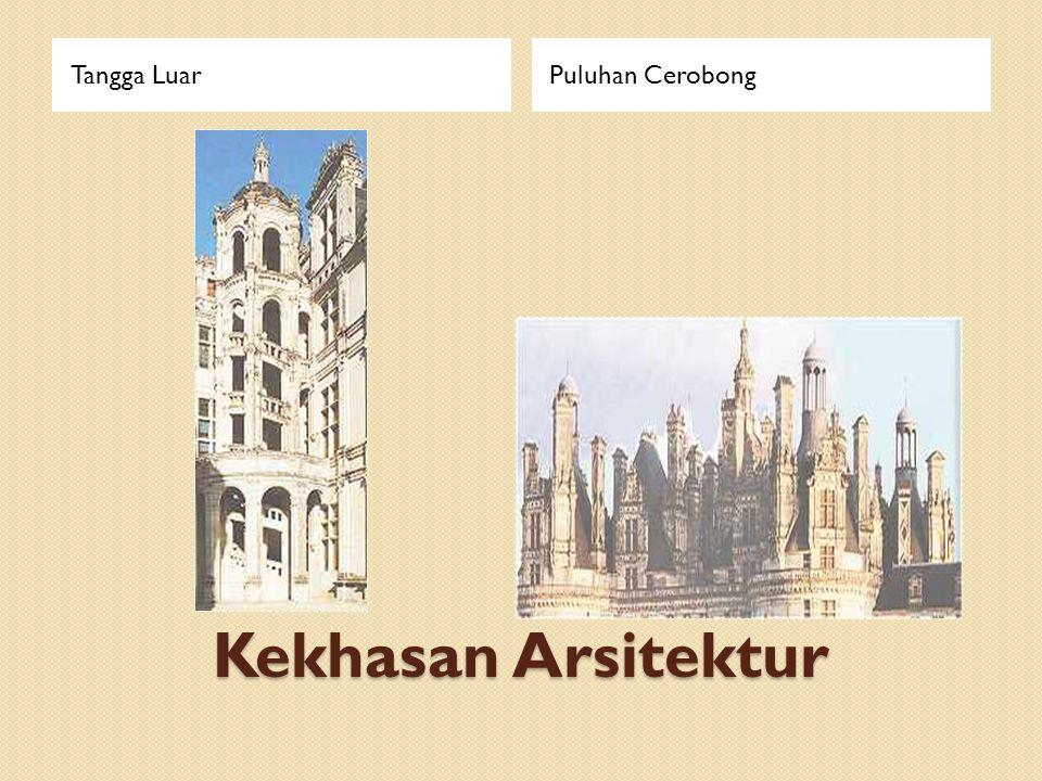 Kekhasan Arsitektur Tangga LuarPuluhan Cerobong