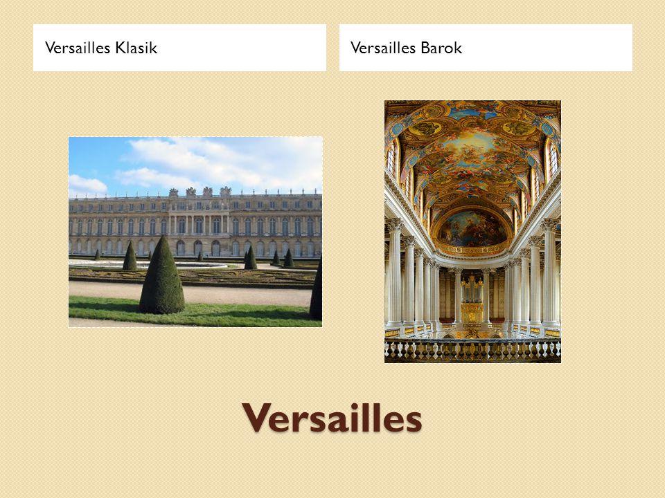 Versailles Versailles KlasikVersailles Barok