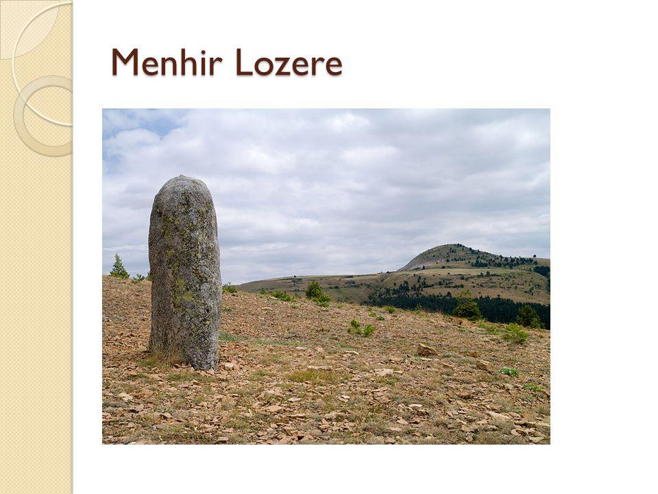 Menhir Lozere