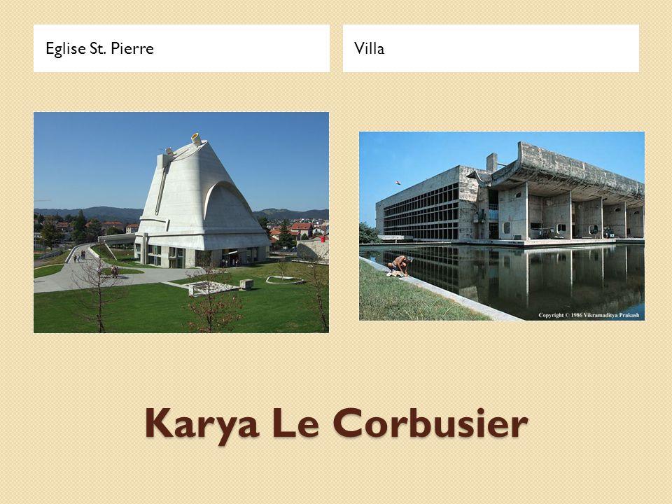 Karya Le Corbusier Eglise St. PierreVilla