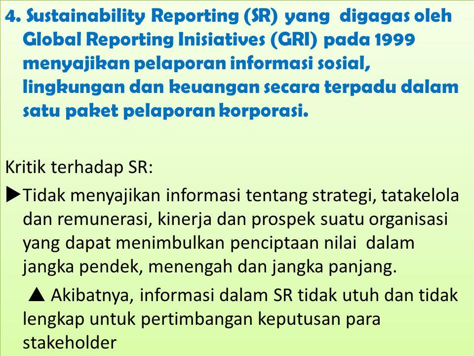 Integrated Reporting: Teori dan Aplikasi